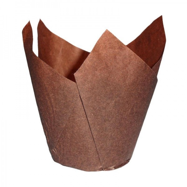CCBS4162 - Chocolate Tulip Muffin Wrap 160mm x 4800