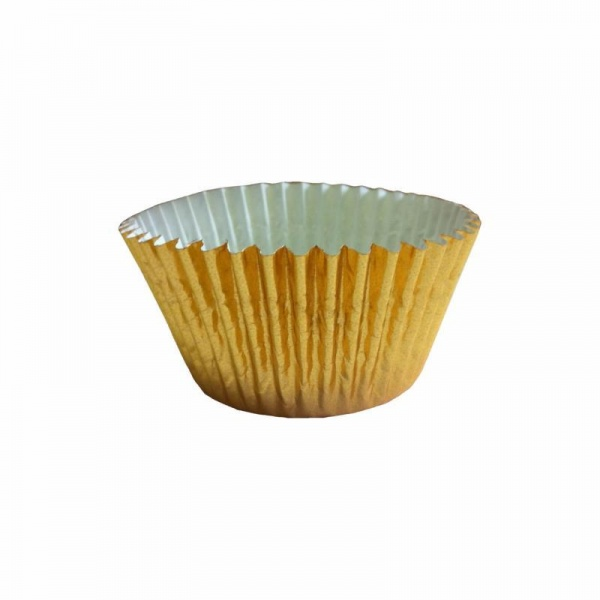 CCBS6764 - Gold Foil Cupcake Cases (51mm x 38mm) x 500