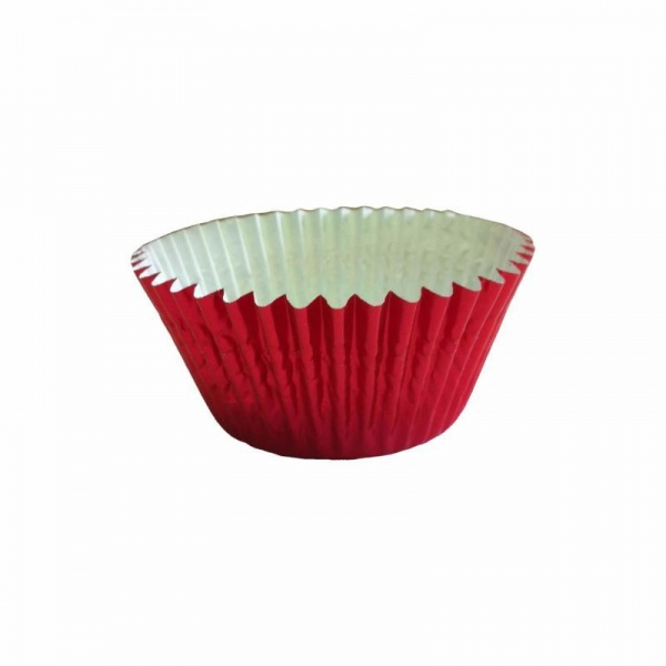 CCBS6767 - Red Foil Cupcake Cases (51mm x 38mm) x 500