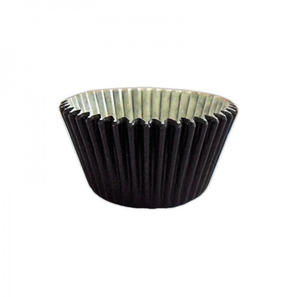 CCBS7910 - Solid Black Muffin Case 51mm x 38mm (180 Pack)