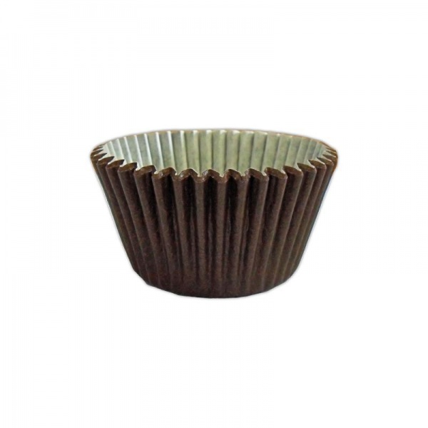CCBS7911 - Solid Chocolate Muffin Cases 51mm x 38mm (180 Pack)