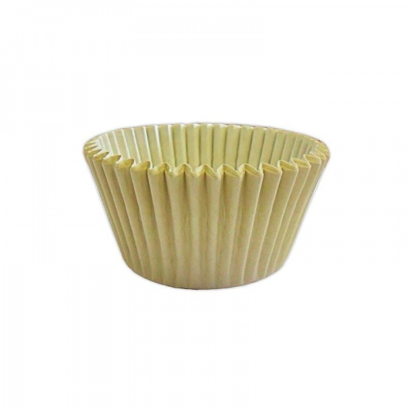 CCBS7912B - Solid Ivory Muffin Case (3600 Pack)