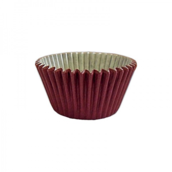 CCBS7913 - Solid Burgundy Muffin Case x 180
