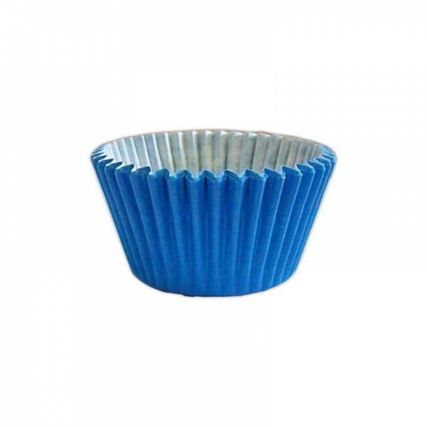 CCBS7919B - Solid Blue Muffin Case x 3600