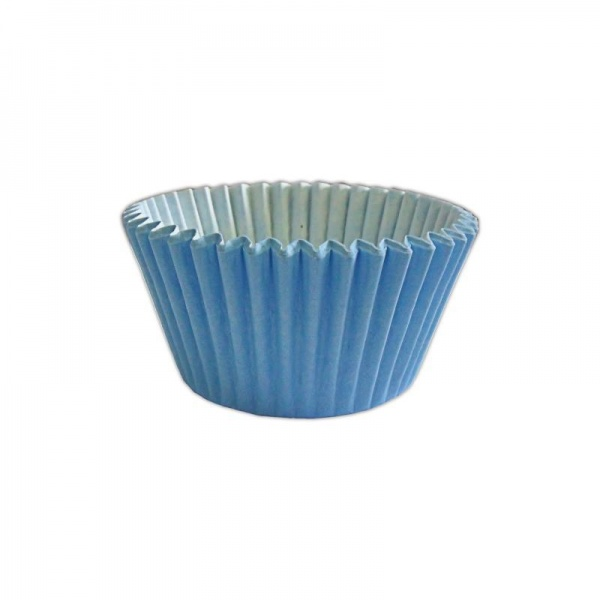 CCBS7920B - Solid Baby Blue Muffin Case x 3600