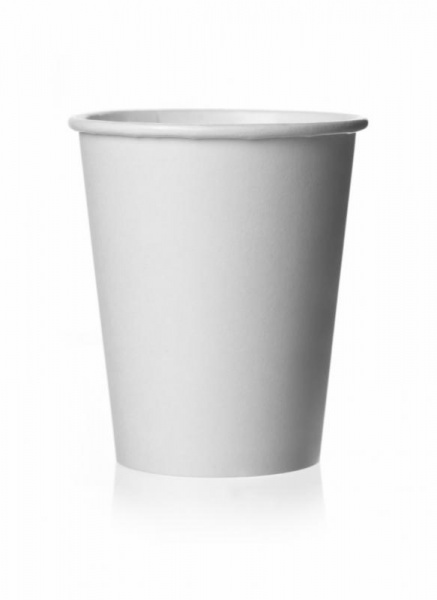 CCUP8017A - White Paper Hot Cup 12oz x 100