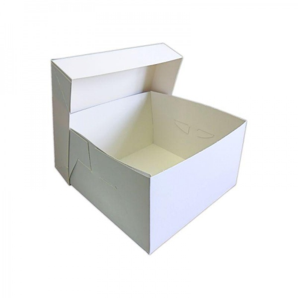 CKB178B - Wedding Cake Box 11 x 11 x 6 Inches x 5