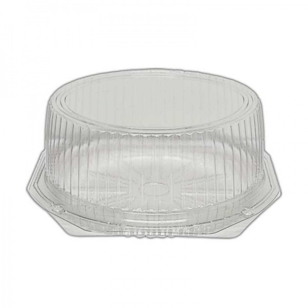 CKDM5373 - Clear Plastic Hinged Cake Dome (7.5 x 3.5'') x 120