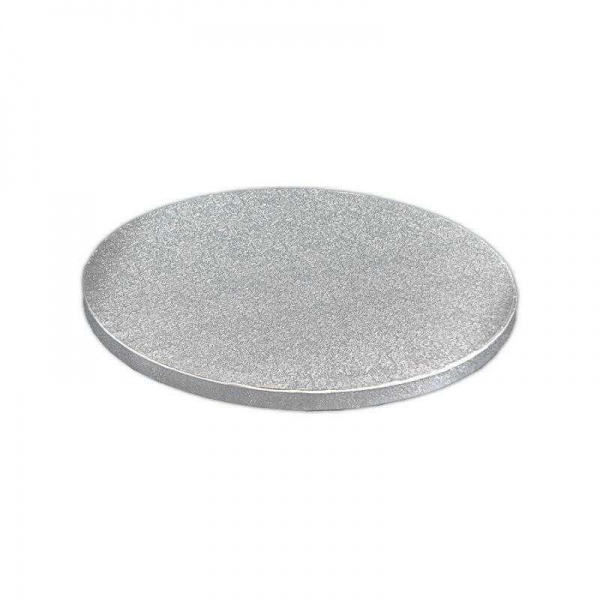 DRUM7100 - Round 12mm Silver Cake Drums 6'' x 5