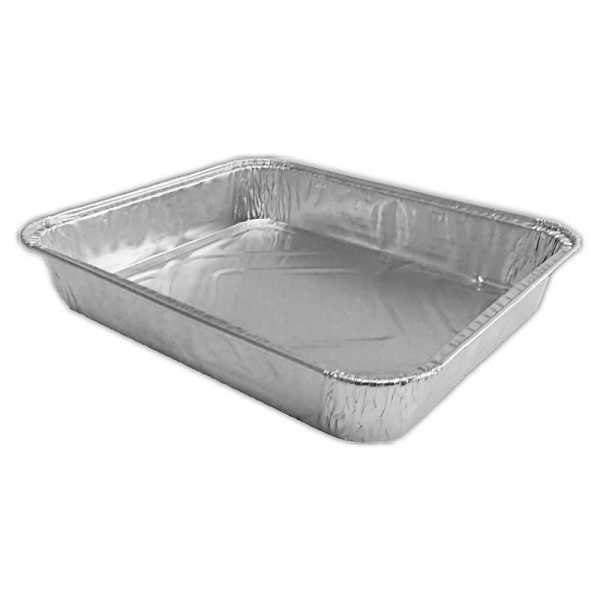 FOIL3093H - Small Rectangular Tray - 1.22 Inch Deep -  7.83'' X 6.57'' X 1.22'' (CS730830/218TPL) x 100