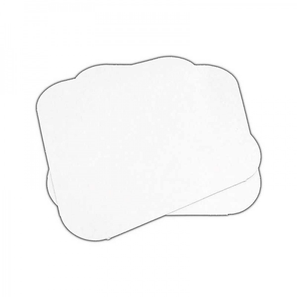 FOIL3100B - Heavy Poly Foil Container Lid (WN49) 9.25 x 9.25 Square x 200