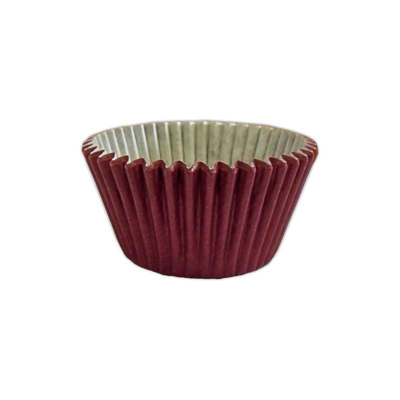 CCBS7913B - Solid Burgundy Muffin Case x 3600