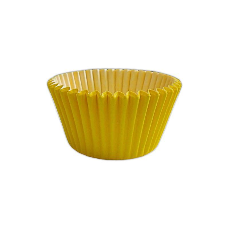 CCBS7923 - Solid Yellow Muffin Case x 180