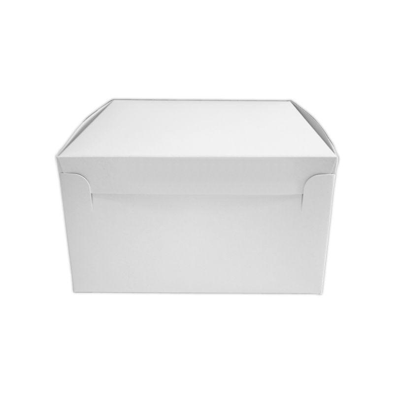 CKB8040 - Hand Erect Cake Box 8 x 8 x 4 Inches x 100
