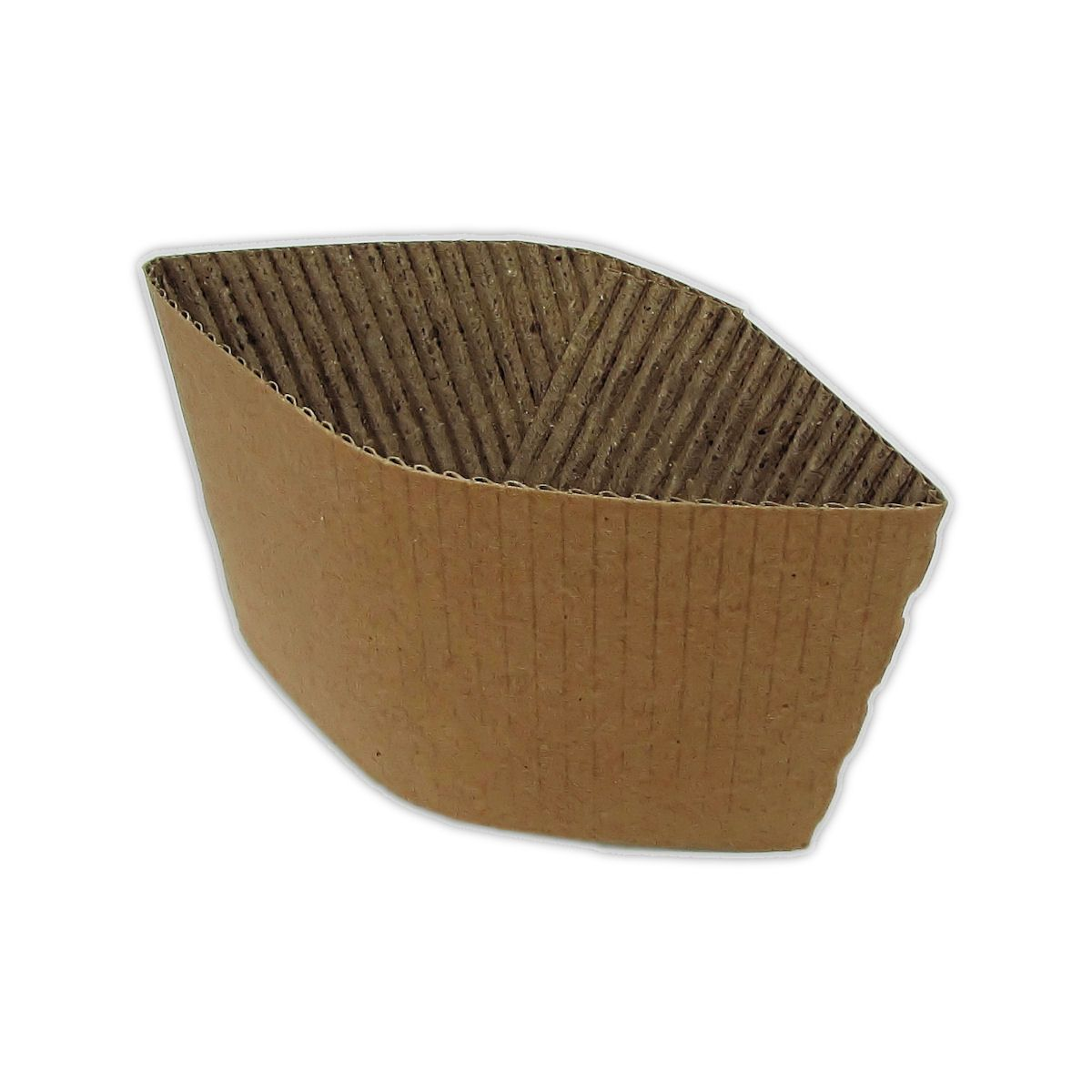 CPCL3114A - 8/10oz Cup Collars Brown x 100