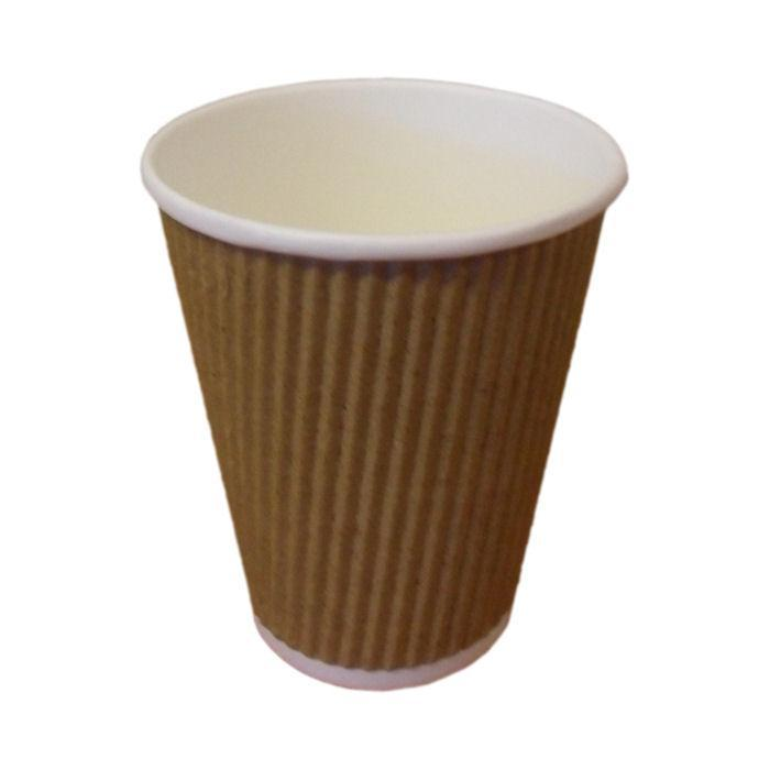 CUPRIPPLE1013 - 12oz Brown Ripple Cup x 100