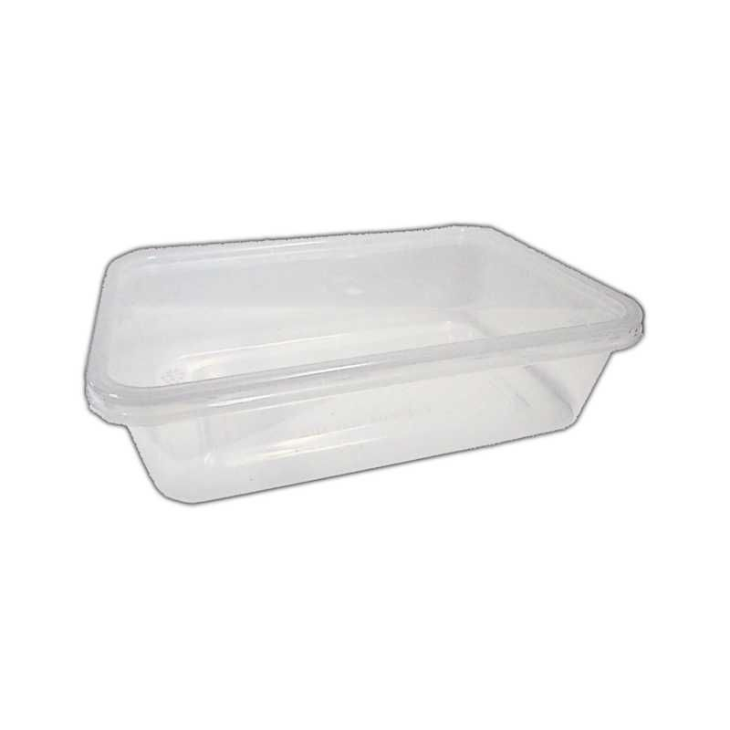 MVCR0367 - MICROWAVE CONTAINER WITH LID 500CC X 50