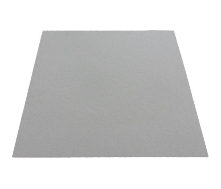 PCC6698 - 10'' Square White Poly Coated Cake Boards 1.5mm (100 PACK)