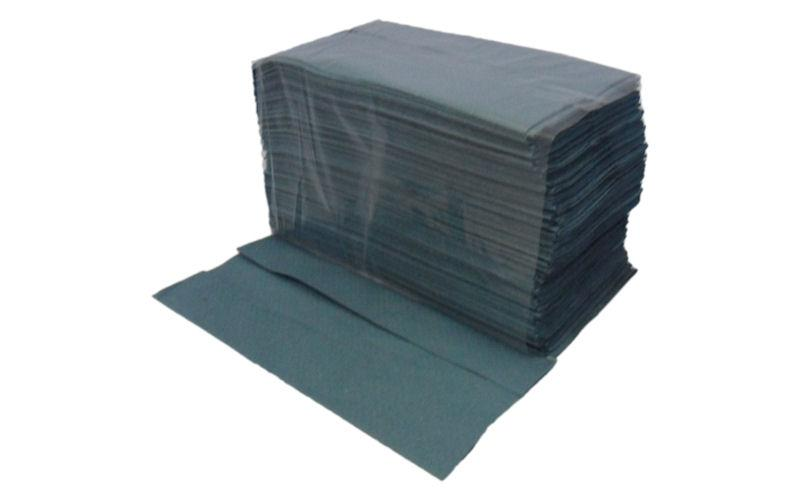 TOWL464 - BLUE CENTREFOLD DISPOSABLE TOWEL 230 X 330MM X 200