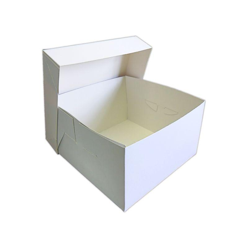 WED180A - Wedding Cake Box 9 x 9 x 6 Inches x 50