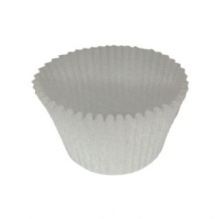 CCBS5915 - White Crimpted Muffin Cases 51GSM (EW502) x 10000