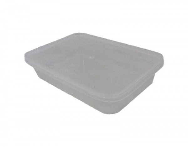MVCR0369 - MICROWAVE CONTAINER WITH LID 650CC X 50