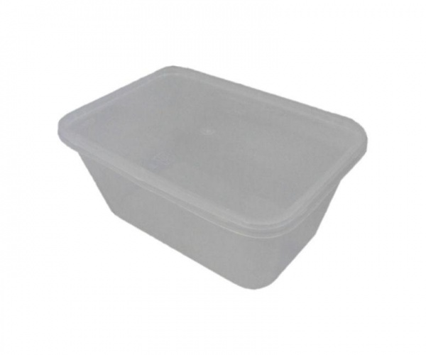 MVCR0372 - MICROWAVE CONTAINERS WITH LID 1000CC X 250