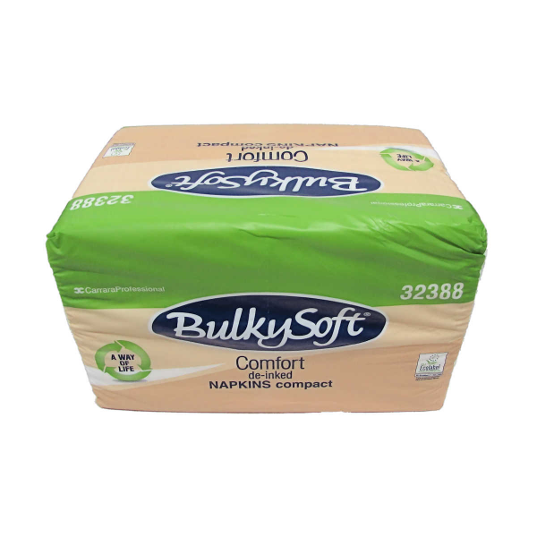 NAP0932 - BulkySoft White 1 Ply Napkins 30 x 30cm x Case of 4000