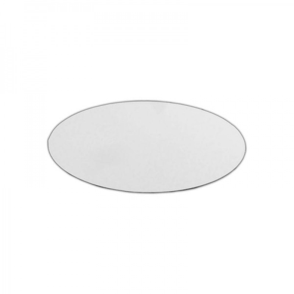 PCC0340 - 7'' Round Poly Coated Cake Boards 1.5mm (100 PACK)
