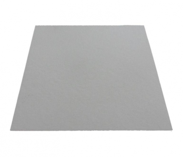PCC6695 - 7'' Square White Poly Coated Cake Boards 1.5mm x 100